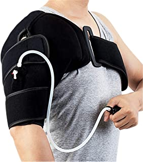 Shoulder Ice Pack Wrap for Shoulder Cold Compress, Cold Therapy Shoulder Brace for Rotator Cuff Surgery, Swelling, Sports Injuries, Sprain, Dislocation(Left/Right)
