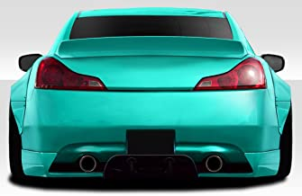 Extreme Dimensions Duraflex Replacement for 2008-2015 Infiniti G Coupe G37 Q60 LBW Rear Wing Spoiler - 1 Piece