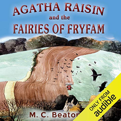 『Agatha Raisin and the Fairies of Fryfam』のカバーアート