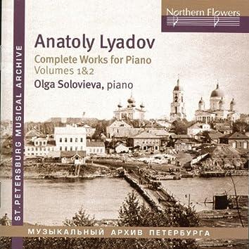 Liadov: Complete Works for Piano, Vols. 1 & 2