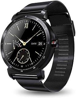 Gymqian el Reloj de Manera Inteligente K88H Plus, Pantalla de Alta Definición Monitor Del Ritmo Cardíaco Podómetro Rastreador de Ejercicios Smartwatch Conectado para Android Iphone