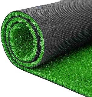 YNFNGX Artificial Turf Imitation Green Grass Carpet 8mm Pile High Artificial Fake Turf Outdoor Balcony Interior Decoration...