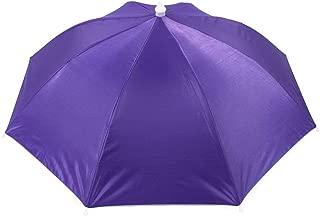 LDEXIN Umbrella Hat Hands-Free Outdoor Fishing Headwear Camping Cap Light Rain Umbrella Hat