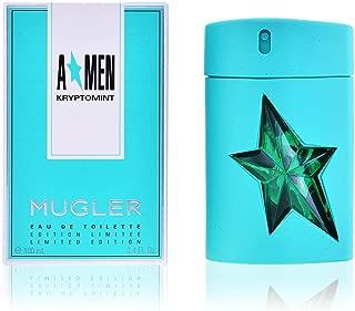 Thierry Mugler Angel Men Kryptomint Eau De Toilette 3.4 Oz/ 100 Ml - Spray - Limited Edition for Men By 3.4 Fl Oz