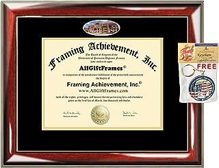 UTMB Diploma Frame University of Texas Medical Branch School Campus Photo Custom Degree Framing Document Graduation Gift Bachelor Master MBA Doctorate PHD Certificate Holder Case