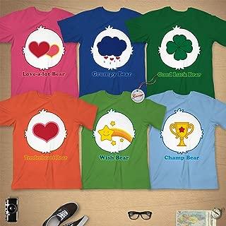 Bears Costume Halloween Group Family Pajamas Magic Grumpy Rainbow Outfit Customized Handmade Hoodie/Sweater/Long Sleeve/Tank Top/Premium T-shirt