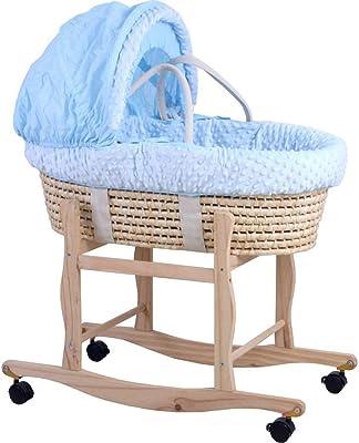 Amazon.com : Moises Smooth para Bebe Bebes Cosas Accesorios Plateado ...