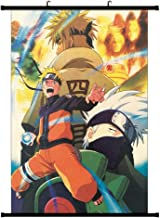 WerNerk Naruto Poster Fabric Scroll Painting Wall Picture Naruto Anime Characters Uchiha Itachi Sasuke Wall Scroll Hanging Decor(Available in Two Sizes)(M: 30X45 cm Style 7)
