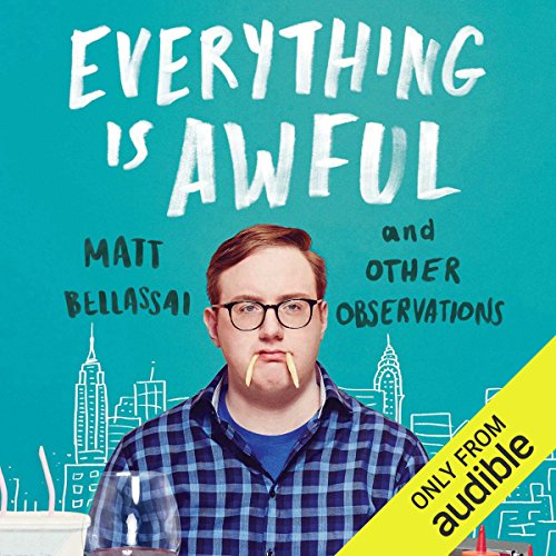 Everything Is Awful audiobook cover art