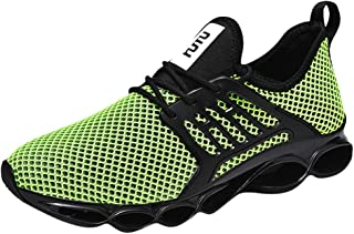 Yamall Men Womens Running Shoes Ultra Lightweight Breathable Athletic Tennis Sneakers