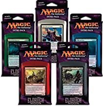 Magic the Gathering: MTG Eldritch Moon: Combo Intro Pack / Theme Deck (Set of All 5 Intro Packs / Decks including Alternate Art Promo Cards)