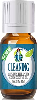 Cleaning Essential Oil Blend - 100% Pure Therapeutic Grade Cleaning Blend Oil - 10ml