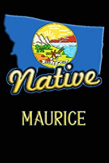 Montana Native Maurice: College Ruled   Composition Book
