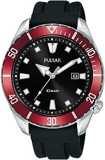 Pulsar Active Mens Analog Quartz Watch with Silicone Bracelet PG8311X1
