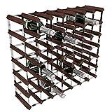 Acero galvanizado Global RTA/Caoba Pino 49-térmica para Botella de Vino para, marrón