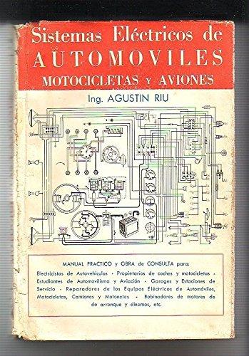 SISTEMAS ELECTRICOS DE AUTOMOVILES, MOTOCICLETAS Y AVIONES