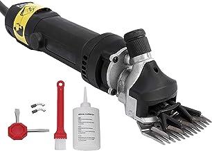 Buaqua schwarz Schafschere 550W Elektrische Schafschermaschine 2400RPM Wool Scissors..