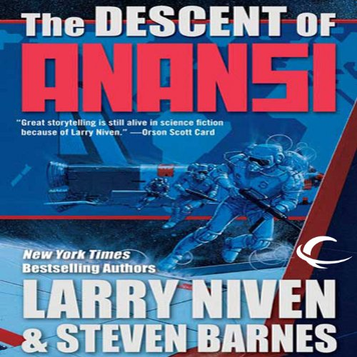 The Descent of Anansi audiobook cover art