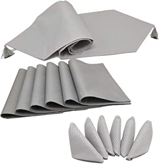 Best table runners placemats and napkins Reviews