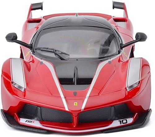 LBYMYB Voiture modèle Voiture 1 24 Ferrari FXX K Jouet OrneHommests Collection de Voitures de Sport Bijoux 19x8x5CM