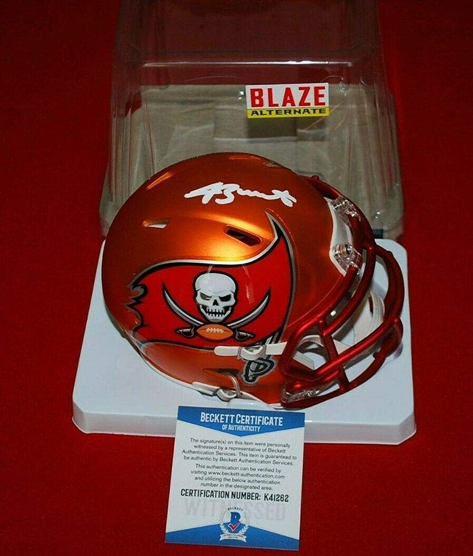 d3623a68 Jameis Winston Autographed Mini Helmet Blaze Beckett GTSM 2 GTSM ...