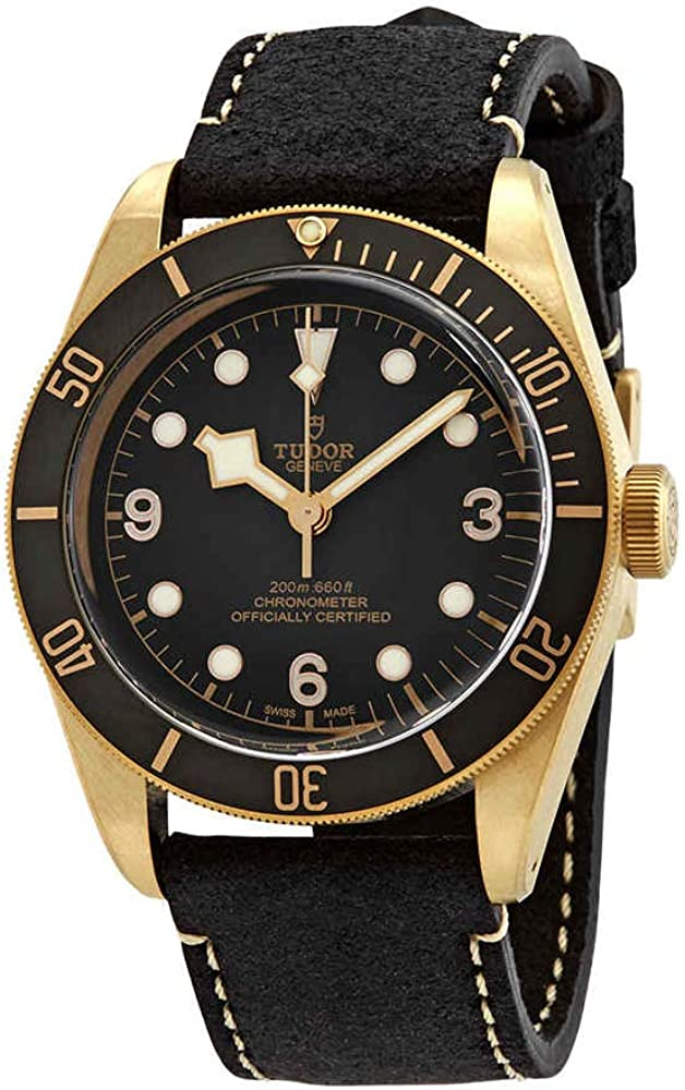 Tudor divers orologio automatico quadrante grigio bronzo nero M79250BA-0001