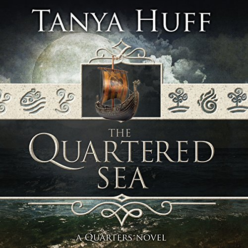 The Quartered Sea audiobook cover art