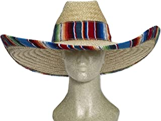 Forum Novelties 72914 Giant Straw Cowboy Hat, Multi-Color, Standard, Pack of 1