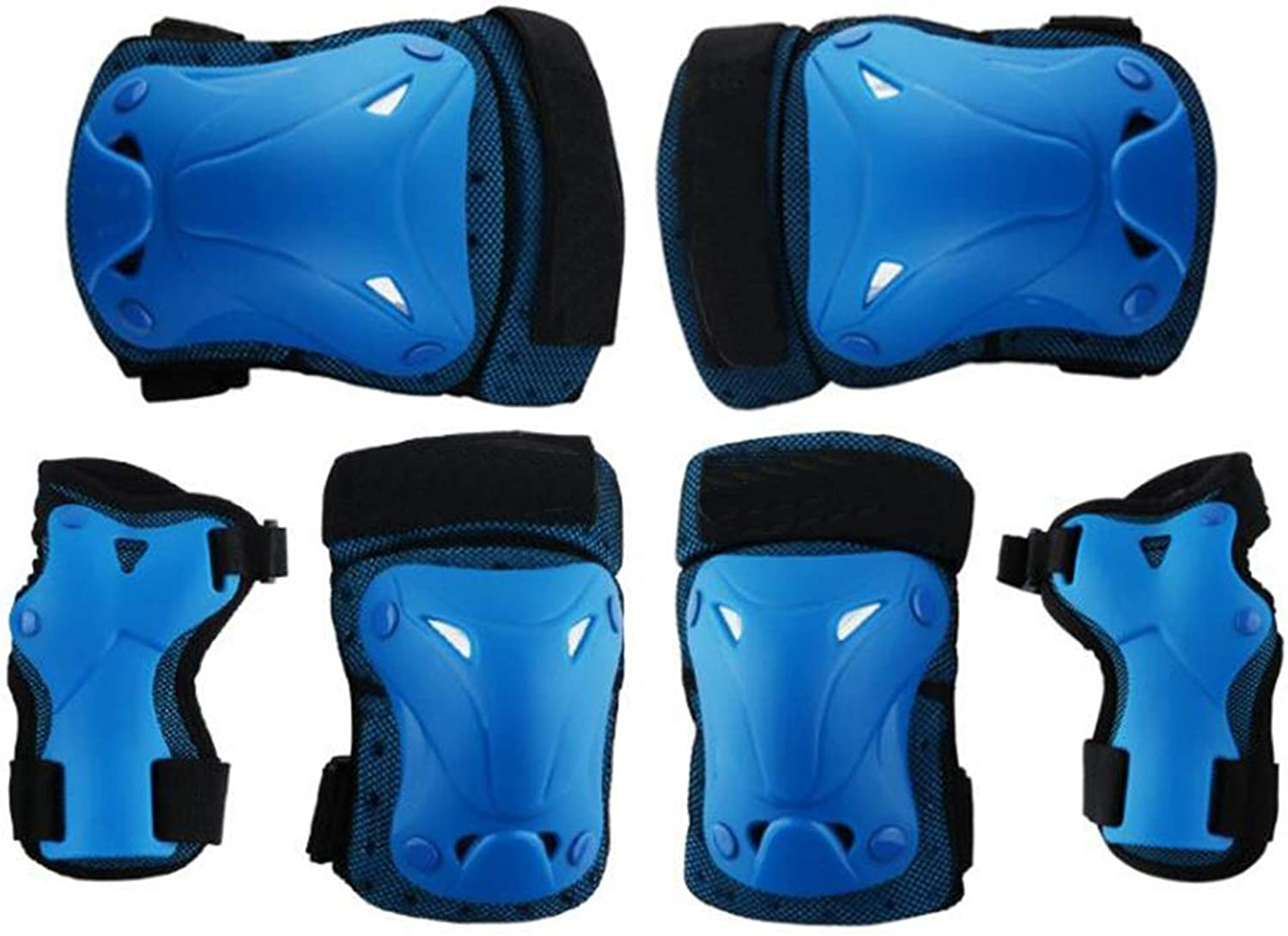Sports Predective Gear Set, Safety Pads, Elbow Wrist Helmet, Support Pad, Cycling Skating Skiing
