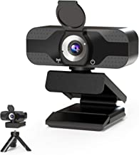 Webcam HD 1080P with Stereo Microphone for Laptop Desktop Computer USB Cameras Video Web Cam Pro Streaming Webcams for Rec...