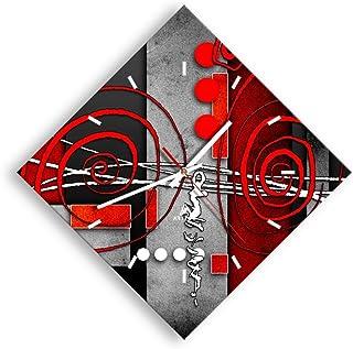 ARTTOR Decoration Maison - Horloge Salle de Bain, Pendule Cuisine ou vers d'autres Pièces. Silencieux Mécanisme Horloge ...