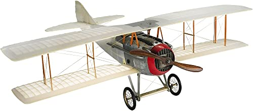 Authentic Models - Flugzeugmodell - Doppeldecker -Transparent Spad - handgefertigt 76 x 60 x 23 cm