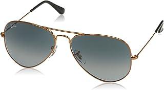 ca53e86500 Óculos de Sol Ray Ban Aviador RB3025 19771 Bronze Lente Cinza Degradé Tam 58