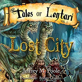 Lost City audiobook cover art