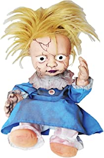 Morris Costumes Creepy Crying Doll Baby Ugly Haunted Doll Animatronics Spooky Decor Scary Halloween Decorations Indoor, Scary Haunted House Dolls Props