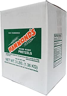 Hammond's Old-Fashioned Hand Made Pretzels, 3 Lb. Box