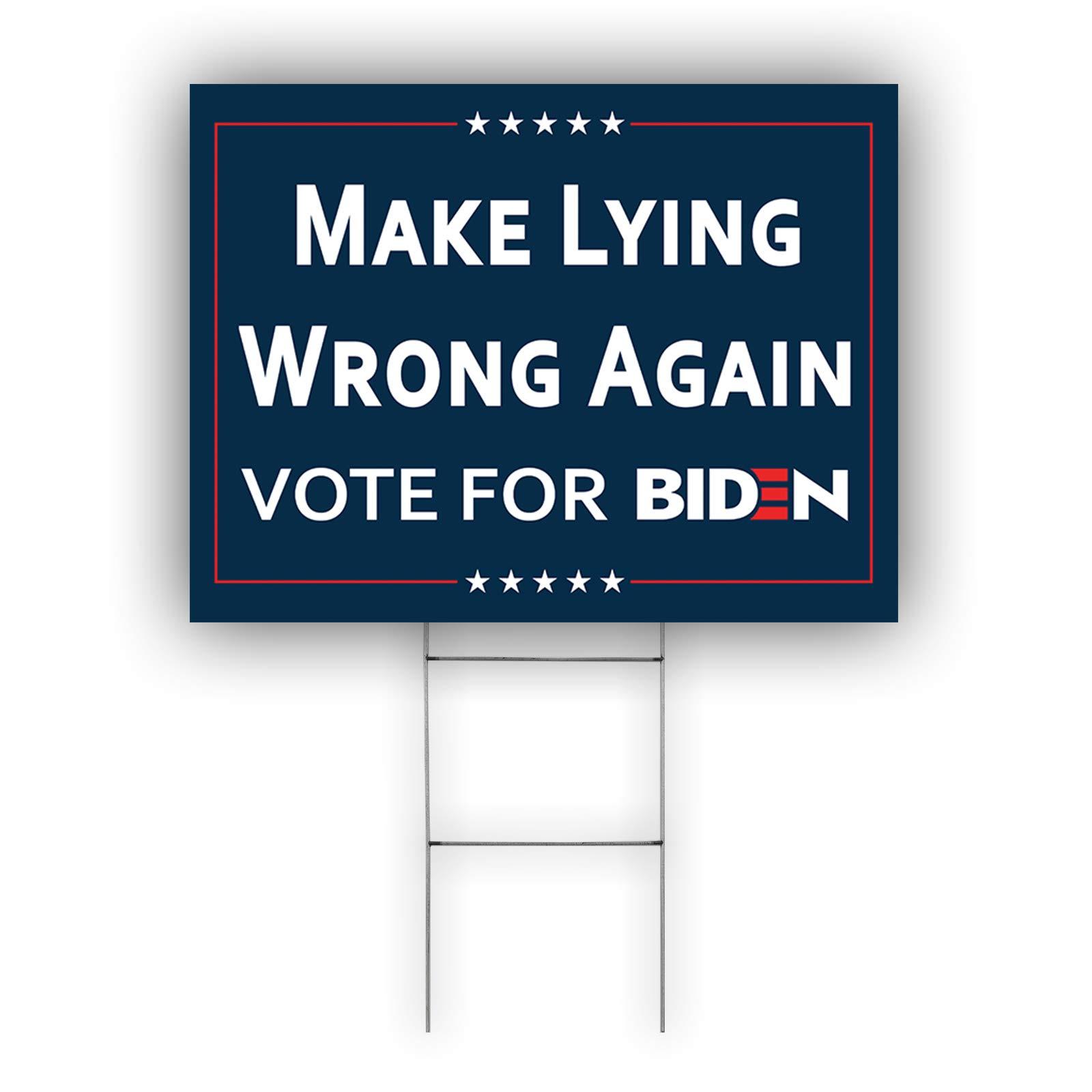 Biden For President 2020 Vote for Biden USA President Elections Yard Sign
