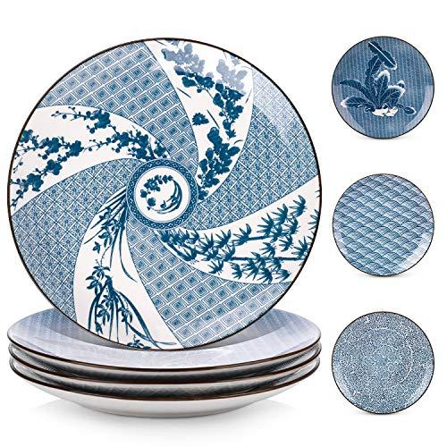 Y YHY Dinner Plate Porcelain, 10