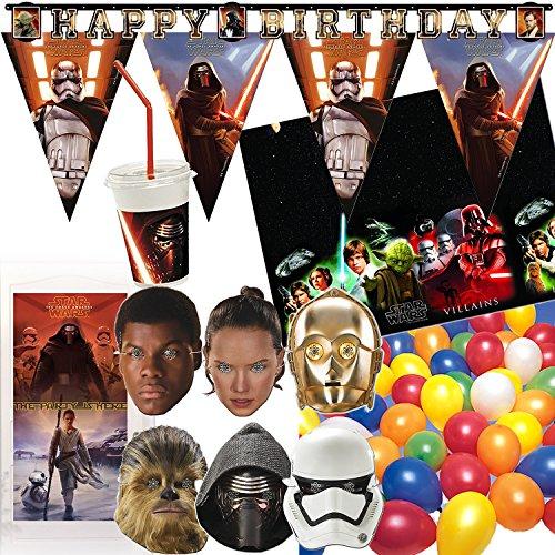 97de piezas-Juego de decoración * Star Wars * para fiestas de cumpleaños...