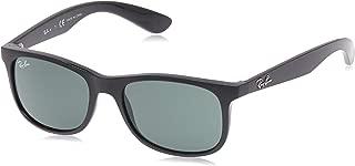 RJ9062S Rectangular Kids Sunglasses, Matte Black/Dark...