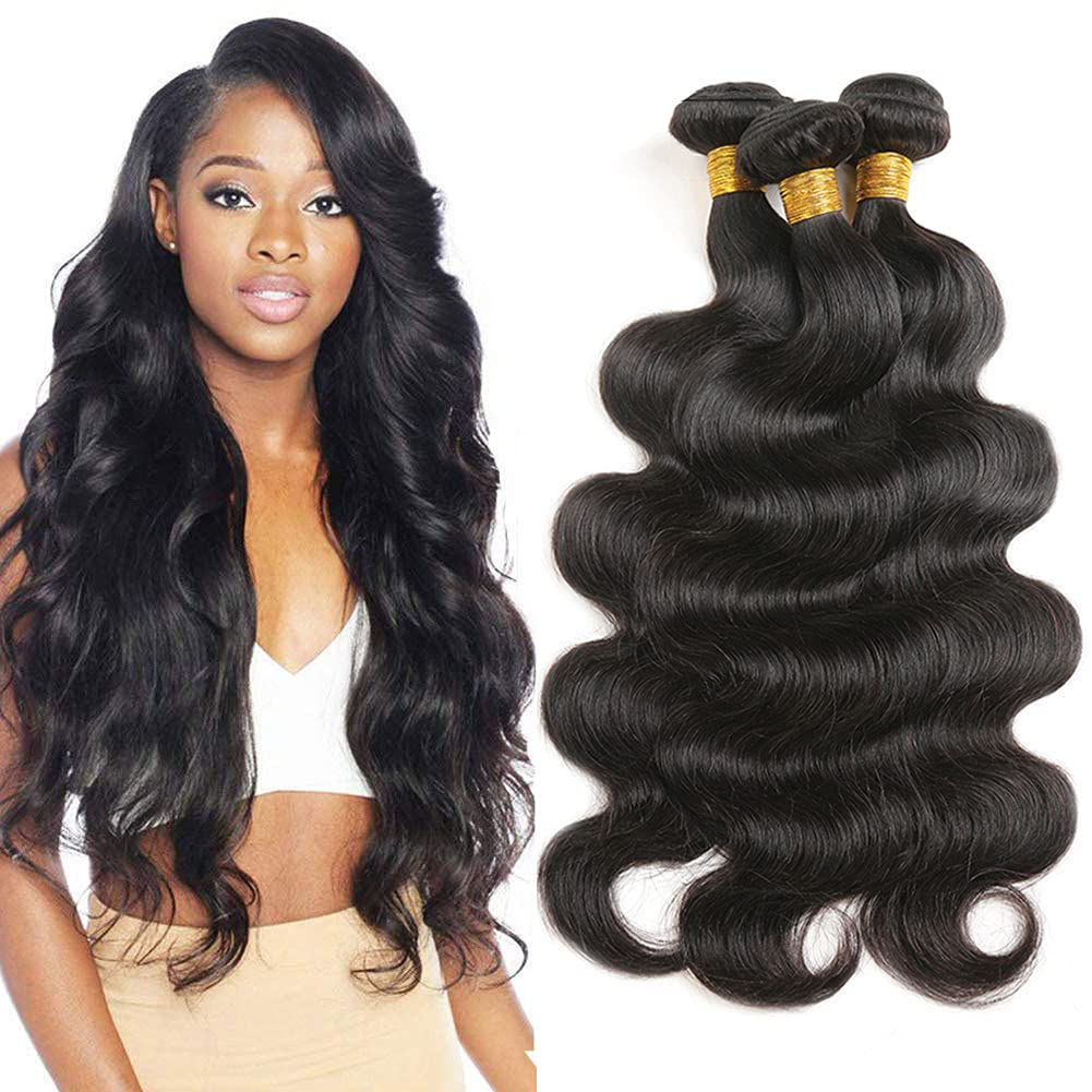 Brazilian Hair Bundles 14 16 18 Unpr Under blast sales inch Limited time sale Wave Body 100%