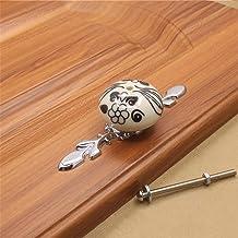 Furniture Handle kabinet Pull Handle Pastoral Ceramic Wijnkast garderobehandvat Een gat Handle 12st for Cupboard kledingka...