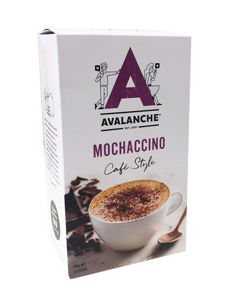 Avalanche Cafe Style Bombing new work Sweet Coffee Mochaccino Box 10 Sticks Surprise price