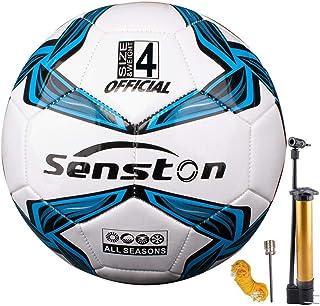 Senston Performance Soccer Ball Training Size 5 Soccer Balls with Pump