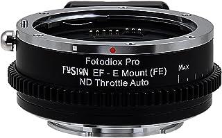 Fotodiox Vizelex ND del acelerador Fusion Smart adaptador de lente AF - Canon EOS (EF/EF-S) D/SLR lente a Sony Alpha E-Mount cámara