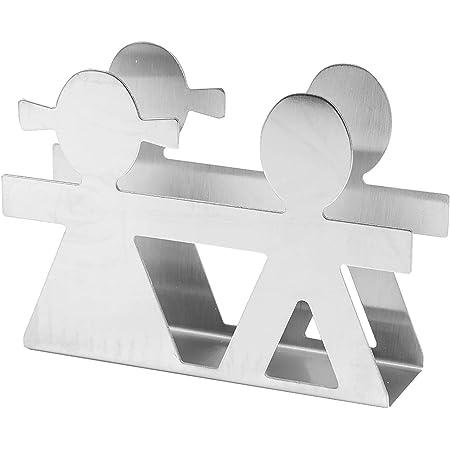 ナプキンホルダー ティッシュペーパーラック テーブルの装飾 カップルスタイル 現代風 ステンレス