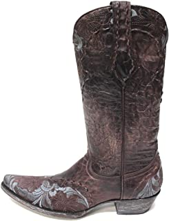 Old Gringo Erin Chocolate & Blue Womens Boots