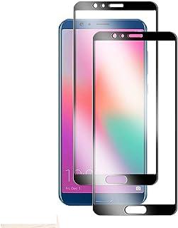 【2020年最新バージョン】Huawei honor 10 ガラスフイルム 【日本製素材旭硝子製】最大硬度9H/高透過率/3D Touch対応/自動吸着/3Dラウンドエッジ加工/指紋防止/気泡ゼロ/貼り付け簡単【2枚セット】Huawei hon...