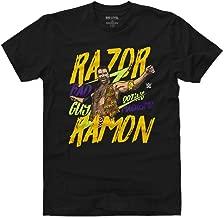 500 LEVEL Razor Ramon Shirt - WWE Men's Apparel - Razor Ramon Bad Guy