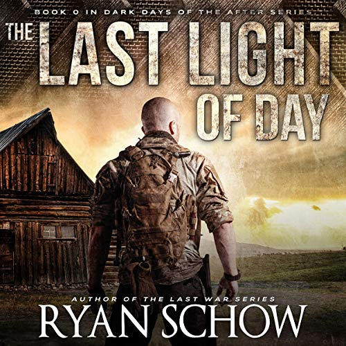 The Last Light of Day audiobook cover art